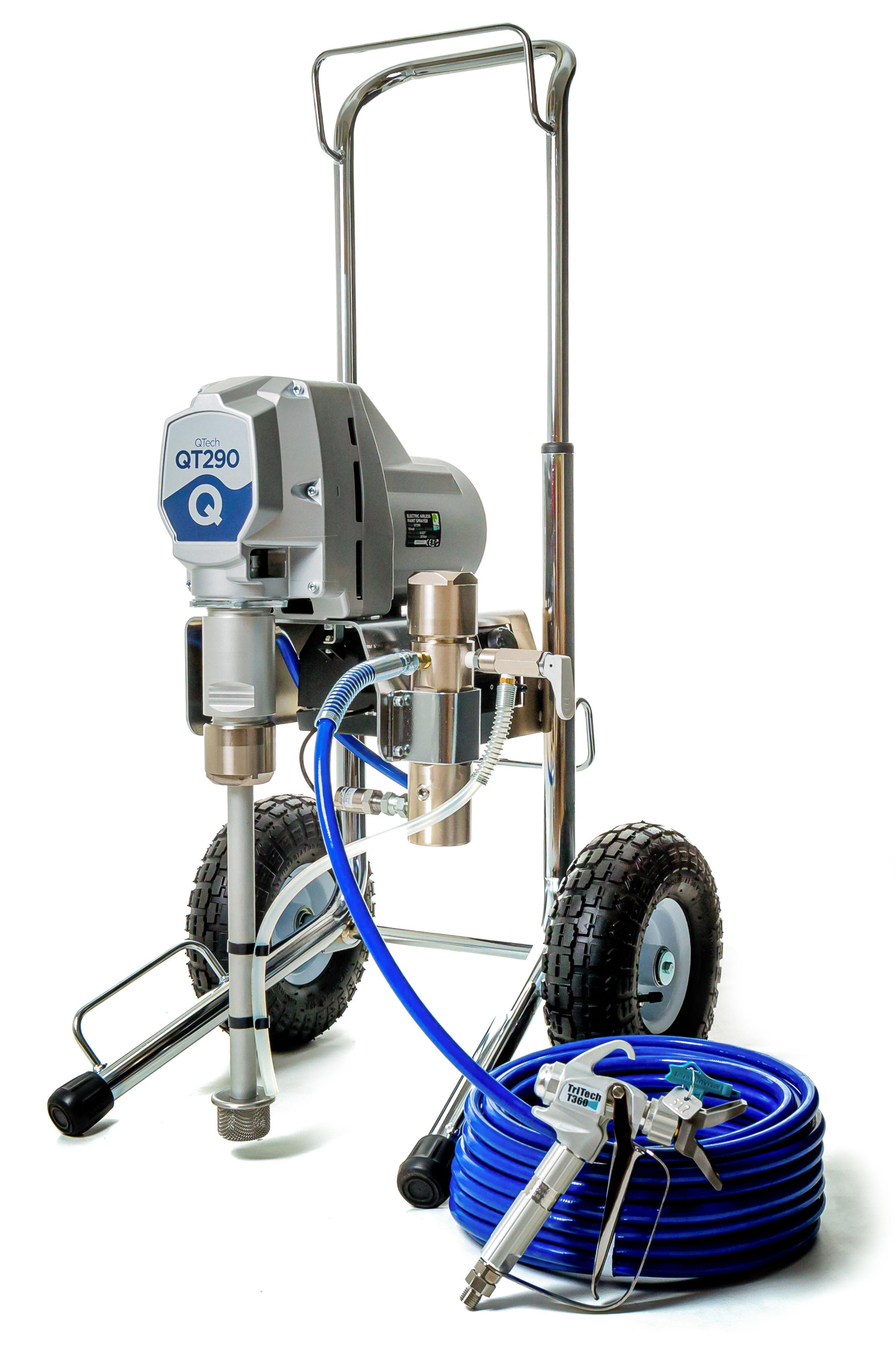 NEW! QTech QT290 Electric Airless Sprayer
